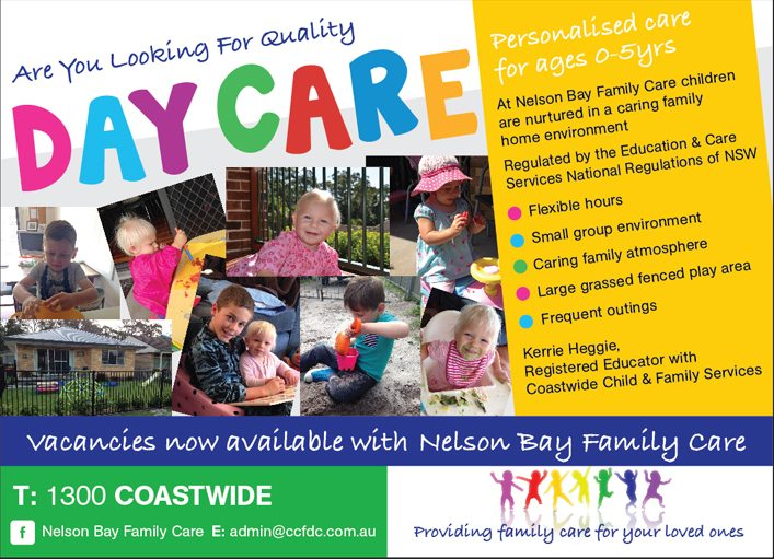 family day care advertising