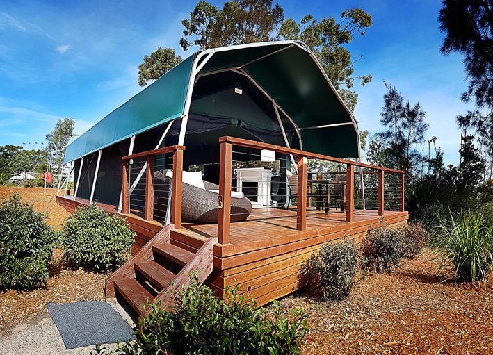 View Larger Image & New glamping safari tents open by the bay in Port Stephens