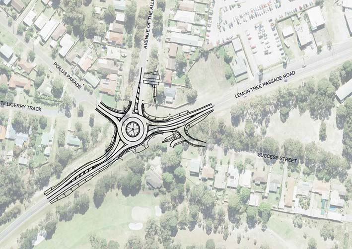 New roundabout for Tanilba Bay black spot - Whats On In Our Backyard