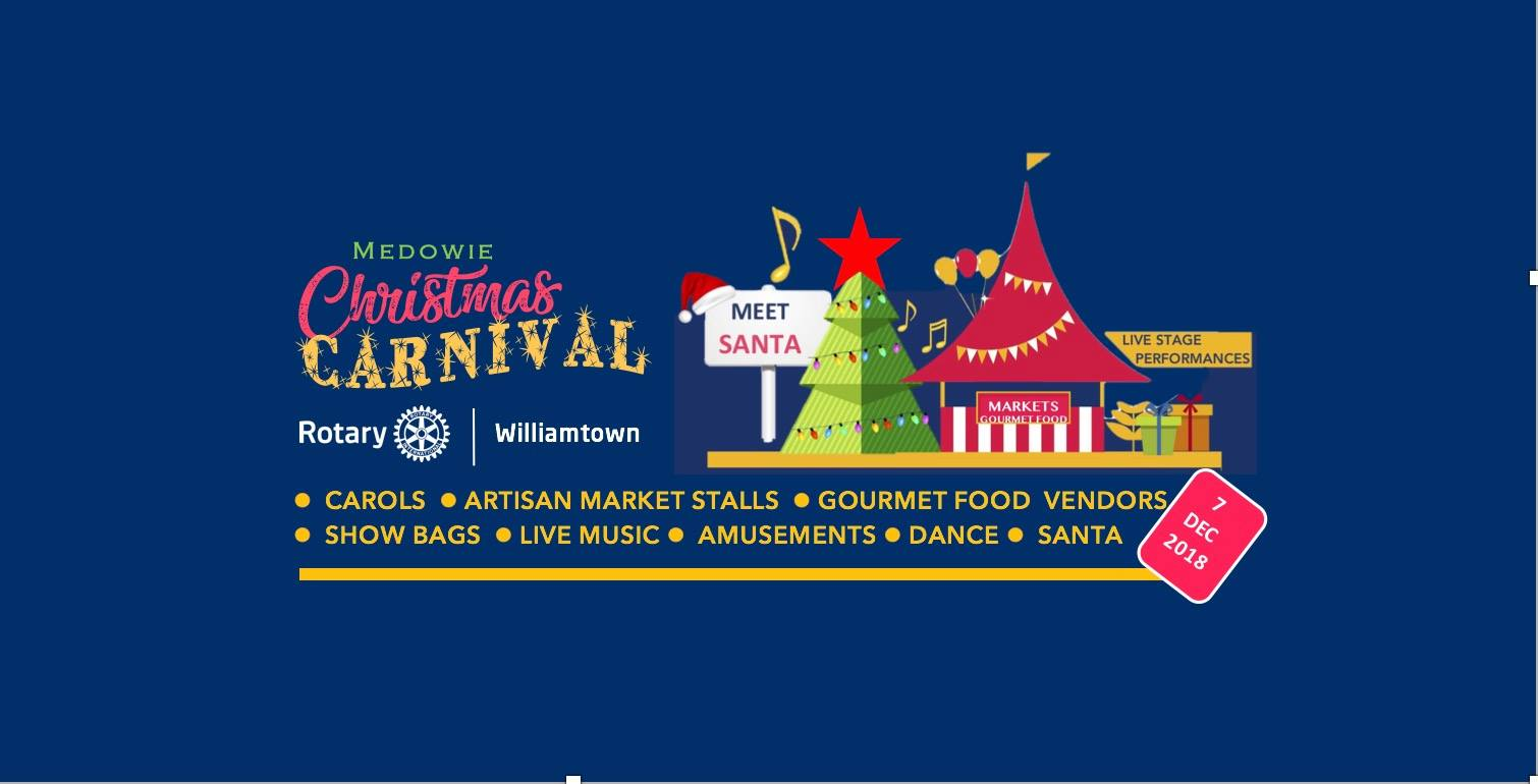 Christmas Carnival Poster.Medowie Christmas Carnival Whats On In Our Backyard Port