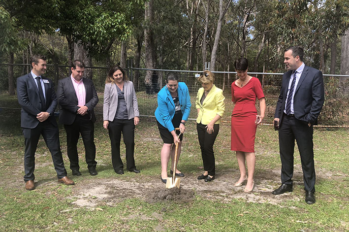Successful Contractor Takes Possession of Site for new HEALTHONE FACILITY at Tomaree Hospital