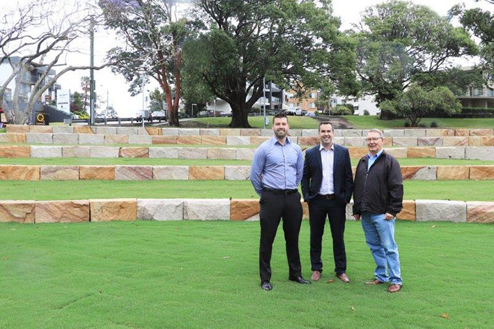 Apex Park revitalisation taking shape