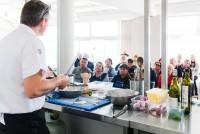 DPS Love Sea Food Tastes Port Stephens Cooking Demonstration Ludovic Poyer