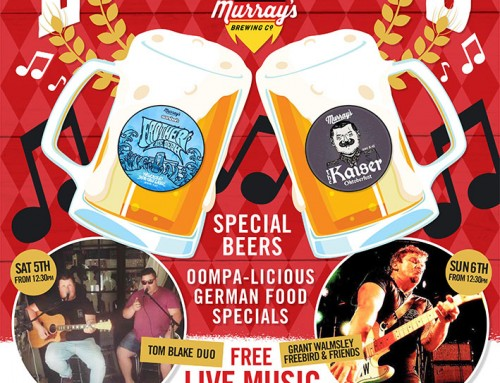 Oktoberfest comes to Port Stephens this long weekend!